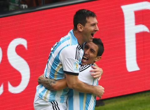News video: Lionel Messi Scores Two Incredible First-Half Goals for Argentina