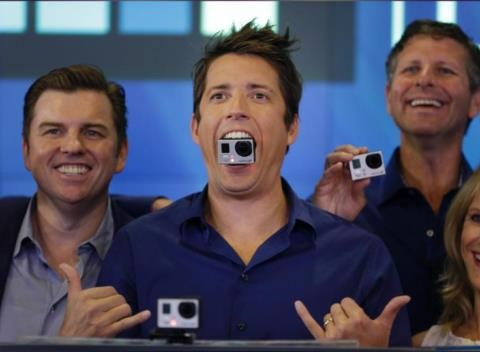 News video: GoPro Stock Spikes More Than 30% On Its Debut